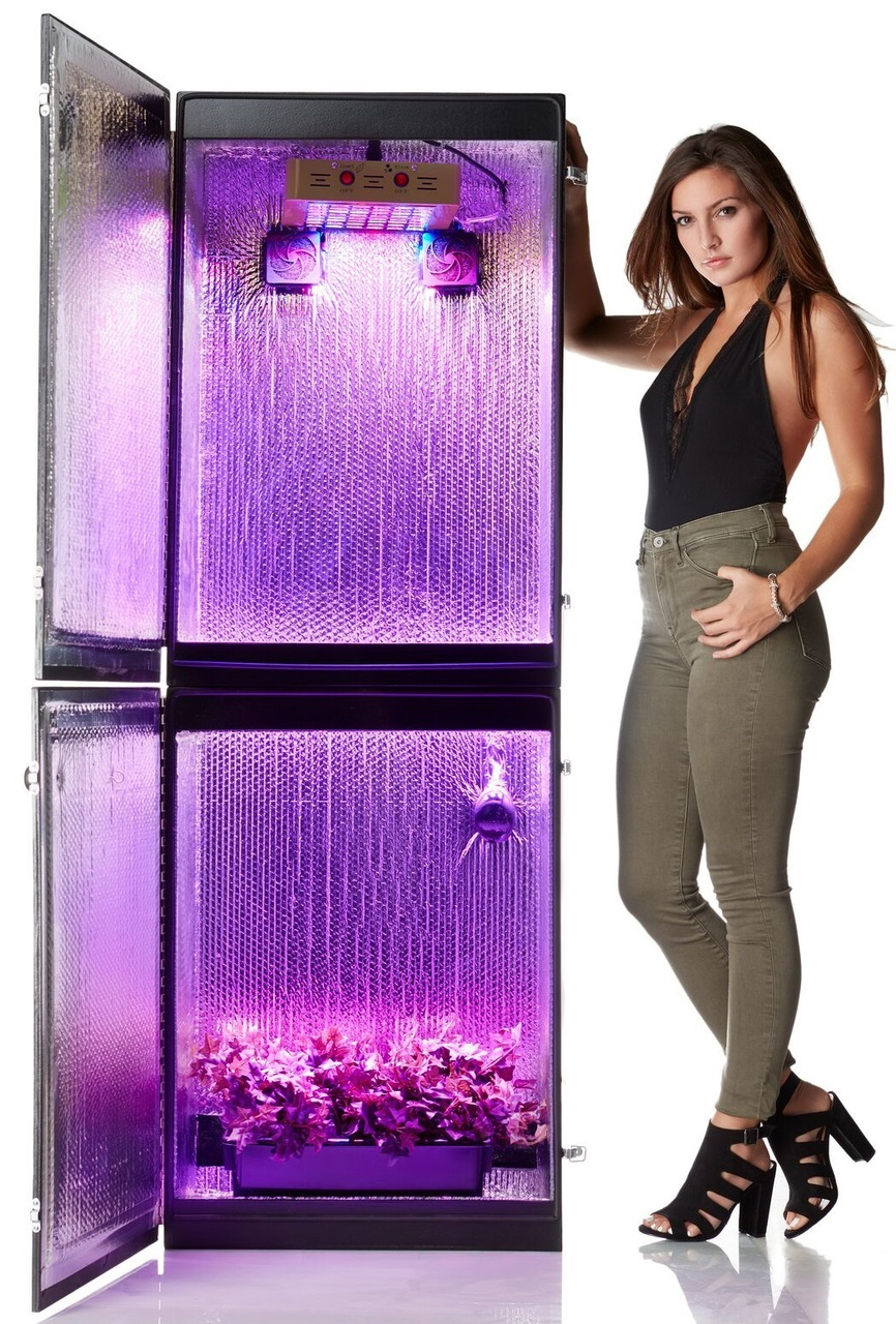 Growzilla 3 0 9 Plant Led Hydroponics Grow Box D Light