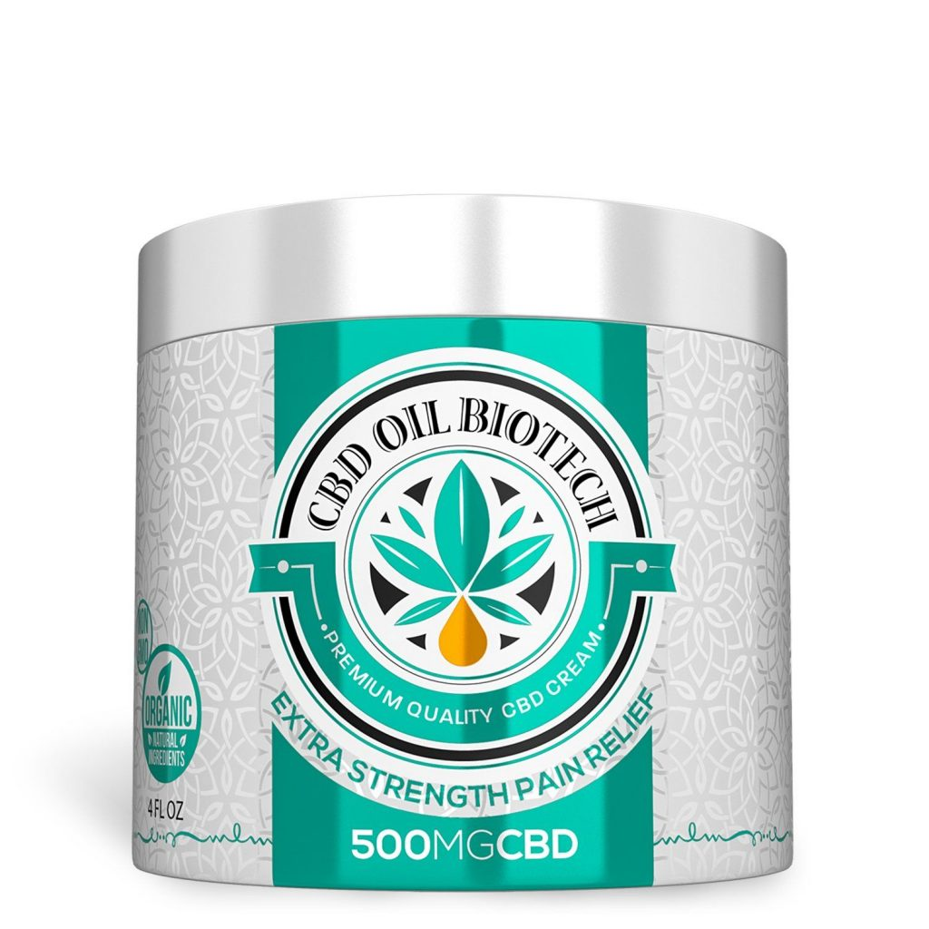 Diamond CBD Biotech Cream for Pain